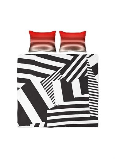 Helen George Helen George Mode Çift Kişilik NevresimTakımı Renkli